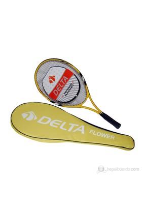 """Delta Flower Tek Parça Özel Lux Çantalı 26"""" Tenis Raketi"""