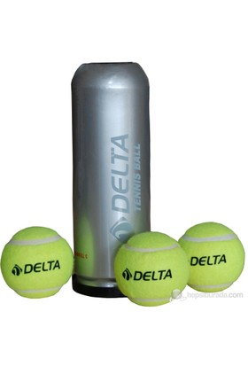 Delta 3 Lü Vakumlu Tüpte Tenis Topu - Dtb 6446