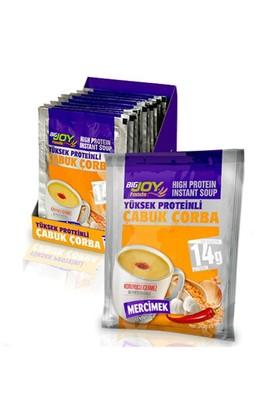 Bigjoy Yüksek Proteinli Çabuk Çorba 12 Adet