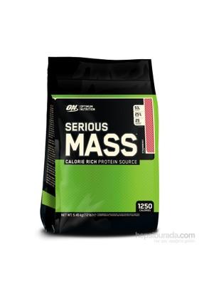 Optimum Nutrition Serious Mass - Çilek, 12 Lbs Multi-Lingual 5450gr