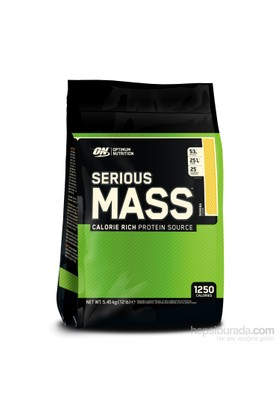 Optimum Nutrition Serious Mass - Muz, 12 Lbs Multi-Lingual 5600gr