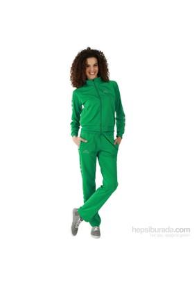 Kappa 1 302XOA T07XL Bayan Kadın Raşel Şeritli Eşofman Altı Yeşil