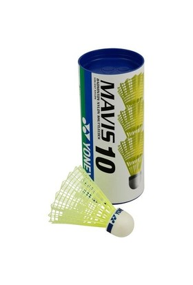 Yonex Mavis 10S 3 Lü Badminton Topu Sarı