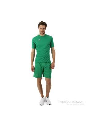 Kappa 1 350092 T07XXL Erkek Şeritli Raşel Şort Yeşil