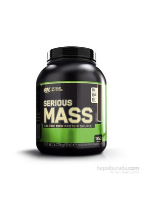 Optimum Nutrition Serious Mass Çikolata Aromalı 6 Lbs/2727 gr