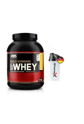 Optimum Whey Protein Tozu Gold 2273 Gr + Shaker Muz