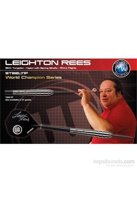 Winmau Leighton Rees % 85 Tungsten Çelik Uçlu Dart- 27 Gram