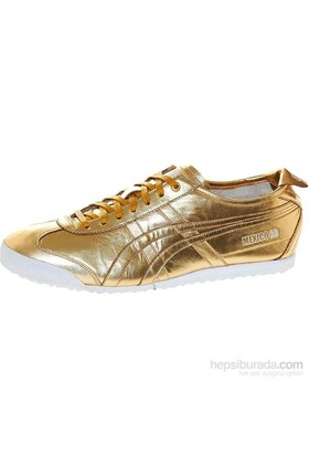 Onitsuka Tiger Mexico 66 Kadın Altın Spor Ayakkabı (D5r1l-9494)