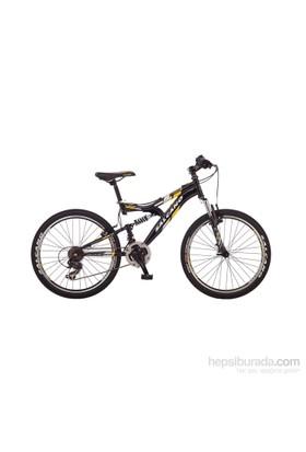 Salcano Nova 24 V Bisiklet Siyah - Kırmızı