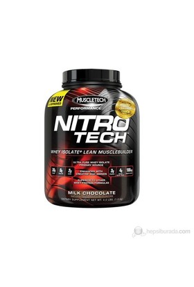 Muscletech Nitro-Tech Performance Series 4 LBS 1800 gr Çikolata Aromalı