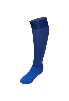 Schmilton Lüks Futbol Tozluğu Çorabı Mavi Büyük Boy