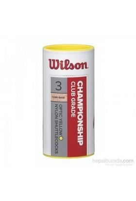 Wilson Wrt6040wh Championship 3 Lü Beyaz Badminton Topu