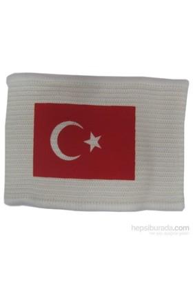 Schmilton Türk Bayraklı Kaptan Kolluğu (Beyaz)