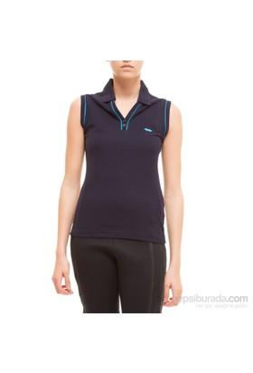 Sportive Violet Kolsuz T-Shirt