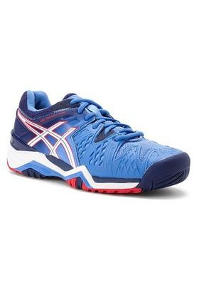 Asics Gel Resolution 6 Powder Blue/White Kadın Tenis Ayakkabıları