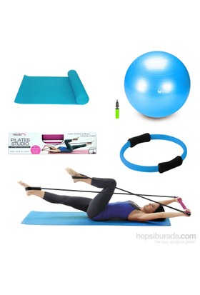 Tristar Pilates Studio Set Mavi