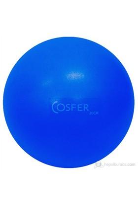 Cosfer 20 cm Pilates & Denge Topu Mavi