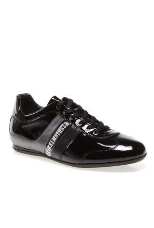 Bikkembergs Springer 198 L.Shoe M Bke107432 Erkek Ayakkabı Pat Lame Black Grey