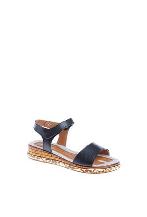 Derigo Kadın Sandalet Siyah