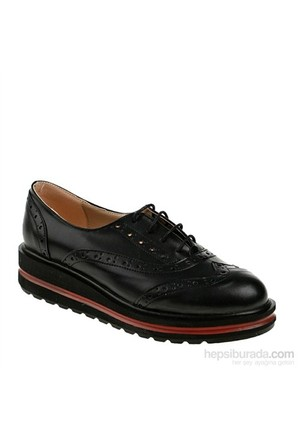 Derigo Kadın Günlük Ayakkabı Siyah Çift Yüz