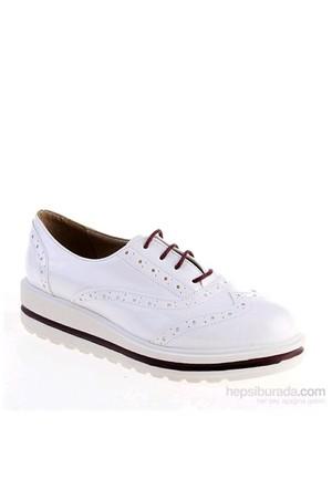 Derigo Kadın Günlük Ayakkabı Beyaz