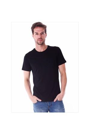 Ayyıldız 59482 Siyah Bisiklet Yaka T-Shirt