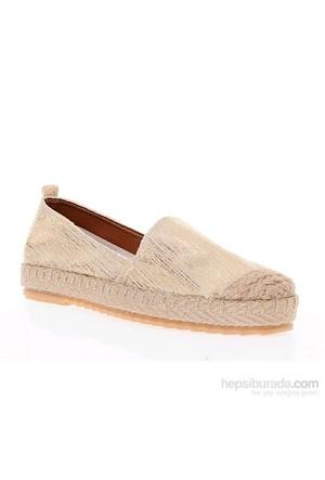 Derigo Kadın Günlük Ayakkabı Altın