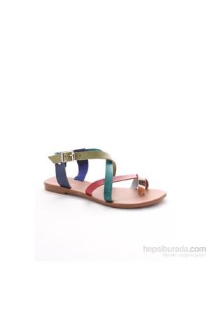 Gio&Mi Renkli Sandalet 700