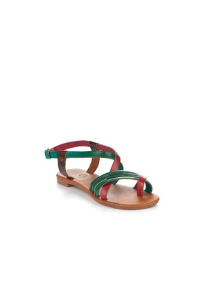 Gio&Mi Renkli Sandalet V4-834
