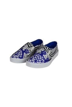 Biggdesign Slipper Güneş Kursu Mavi Ayakkabı 41