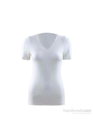 Blackspade All Seasons Kadın Termal V-Yaka T-Shirt 1269