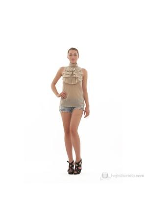 Ra-Re Kadın Bluz Bej