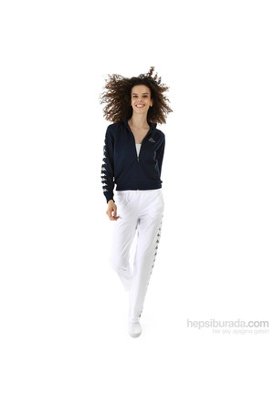 Kappa 1 302XOA 001L Bayan Kadın Raşel Şeritli Eşofman Altı Beyaz