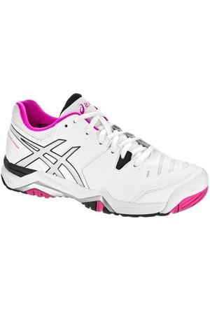 Asics Gel Challenger 10 White/Pink Glow Kadın Tenis Ayakkabısı