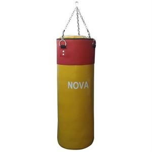 nova 80 cm x 30 cm sarı kırmızı boks kum torbası - sarı - kırmızı