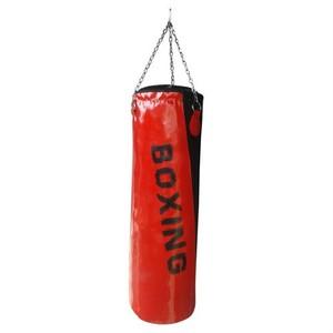 spor byfit boxing 90 cm x 30 cm kırmızı boks kum torbası - 90 x 30 cm