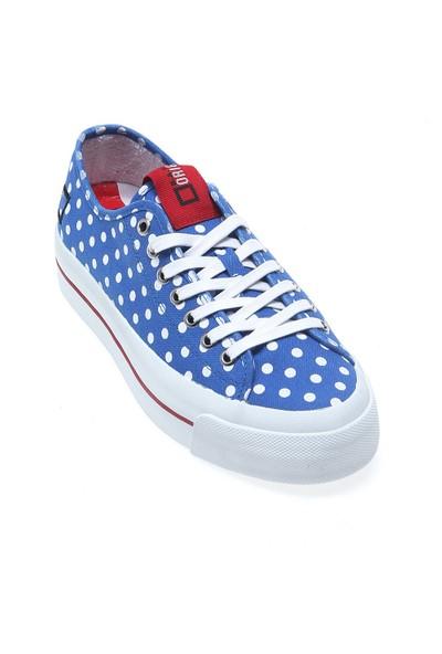 D.A.T.E Rocket Pois E14O-Ro-Po-Bl Kadın Ayakkabı Blue