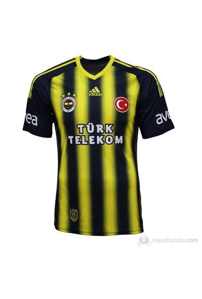 Fenerbahçe 2013/2014 Efsane Çubuklu Taraftar Forma Kısa Kol