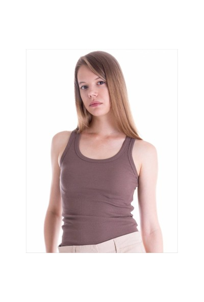Ayyıldız 59378 Kahverengi Atlet T-Shirt Açık Kahverengi