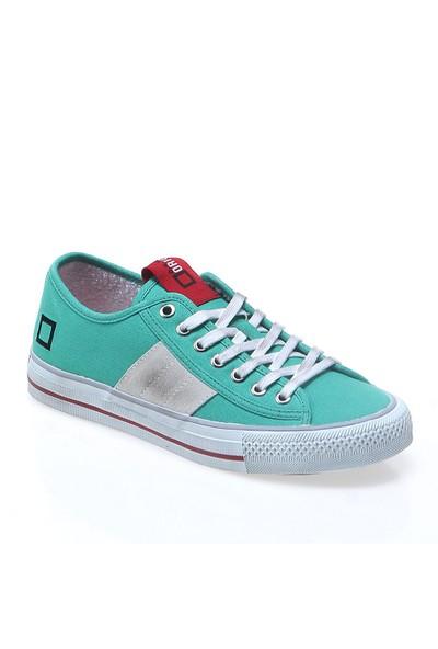 D.A.T.E Tender Low Canvas E14O-Tl-Cn-Gr Kadın Ayakkabı Green