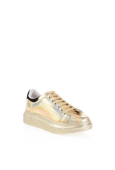Derigo 152501 Altın Bayan Günlük Ayakkabı