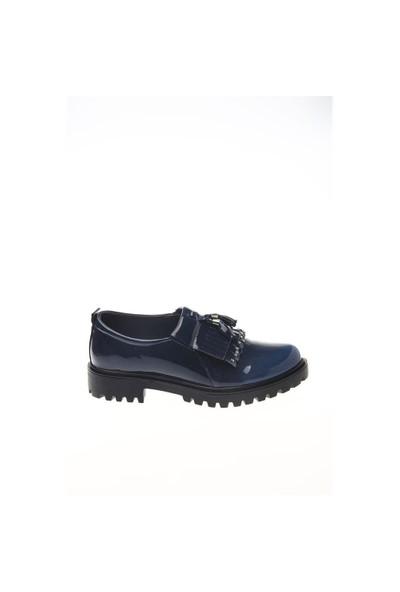 Shoes Time Loafer Babet Lacivert Rugan 15K279810