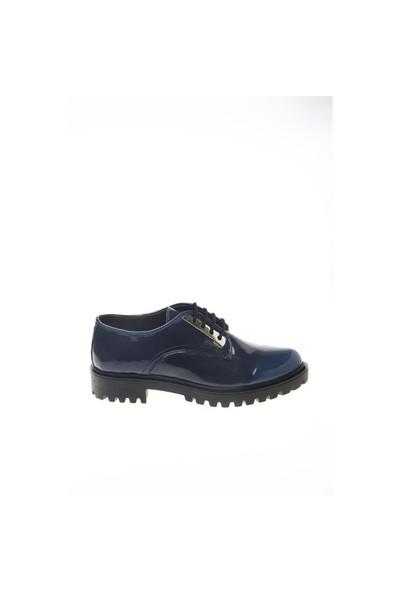 Shoes Time Oxford Babet Lacivert Rugan 15K279812