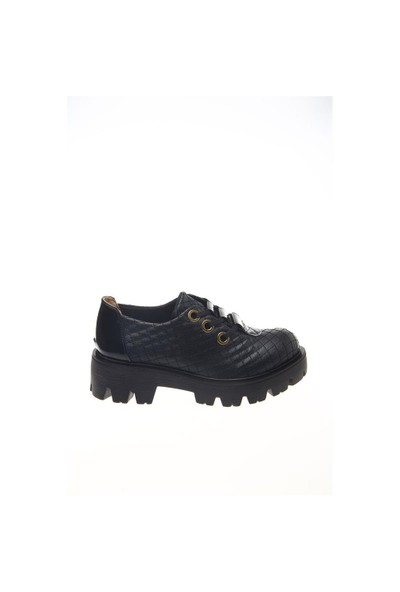 Shoes Time Günlük Ayakkabı Siyah Kapitone 15K842