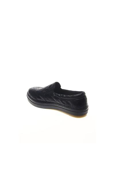 Shoes Time Günlük Spor Siyah Kapitone 15K4102