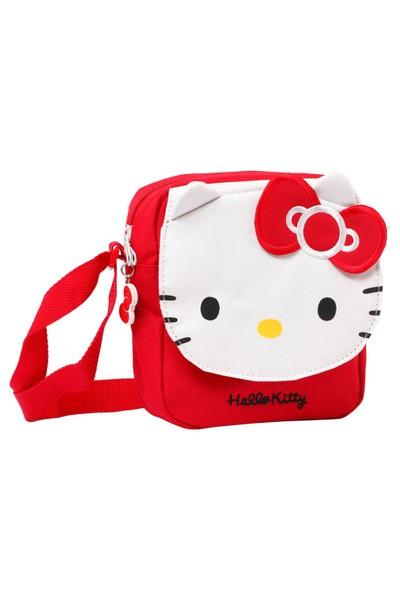 Hello Kitty 35282 Beyaz Pembe Kız Çocuk Omuz Çantası