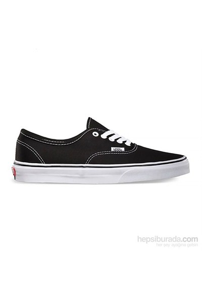 Vans Authentic Siyah Unisex Ayakkabı