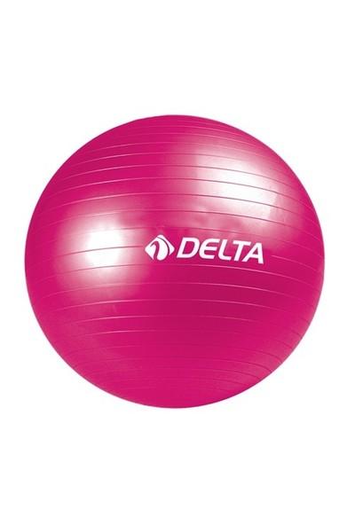 Delta 65 cm Pilates Topu 120 x 15 cm Orta Sert Bant Pompa Seti