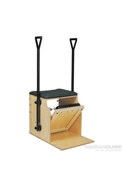Peak Pilates System Low Chair (Single Pedal) W/Handles&Brackets