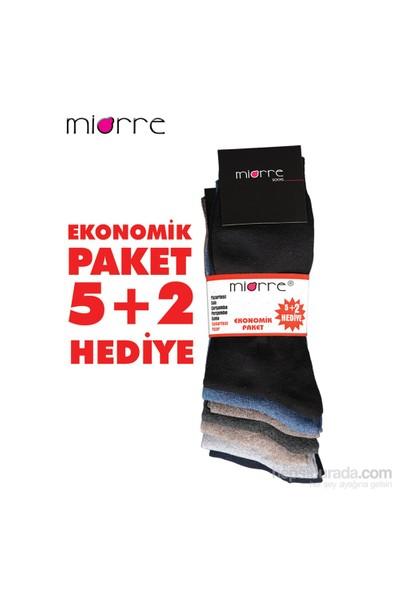Miorre 7 Li Klasik Çorap
